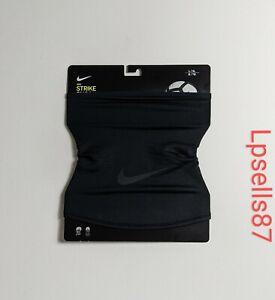 Nike Strike Snood Soccer Face Mask Neck Warmer Unisex L/XL Black CZ1705-011
