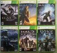 Halo games (Microsoft Xbox 360) Tested