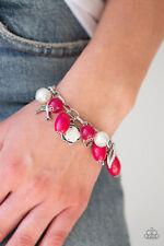 Love Doves Pink Bracelet By: Paparazzi