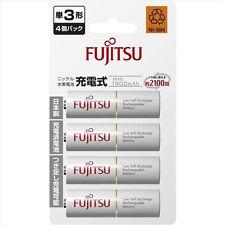 FUJITSU HR-3UTC 4-Pack 1900mAh Ni-MH AA-size Rechargeable Battery eneloop