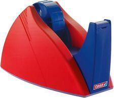 tesa 57422-00000-02 Abrollgeräte Tischabroller 66 m x 25 mm rot/blau