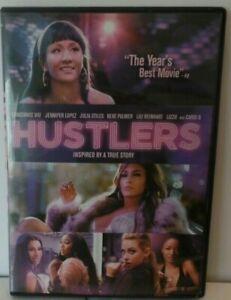 HUSTLERS, LOPEZ, WU, STILES, PALMER, DVD, CASE & CASE COVER ARTWORK, g