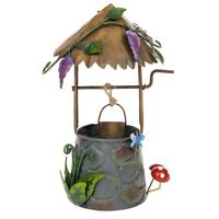 Secret Garden Fairy Wishing Well Mushroom Pixie Cottage House Magical Feature