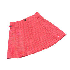 Dior Skirts Red White Woman Gilrs Authentic Used T2983