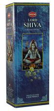 Hem Best Seller Lord SHIVA Incense Bulk 6 x20 Stick Box 120 Sticks FREE SHIPPING
