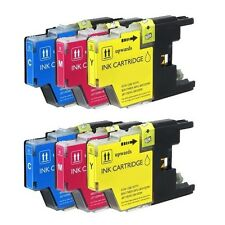 6 PK COLOR NEW Combo Ink Set for LC75 XL Brother MFC-J625DW MFC-J825DW MFC-J430W