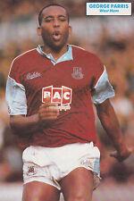 CALCIO FOTO > George Parris West Ham United 1989-90