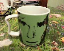 Rosenthal studio line .25 Coffee Mug  green witn famost Andy Warhol signature