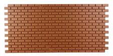 Dolls House Sheet of Plastic Model Wall Bricks Miniature Builders DIY 1:12 Scale