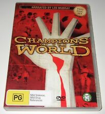 Champions Of The World (DVD, 2006) Football documentary narrated by Les Murray