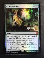 ORDINE NATURALE - NATURAL ORDER FOIL EMA ENG - MTG MAGIC [MF]