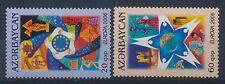 Aserbaidschan 638/39 A postfrisch / Cept (1586) ................................