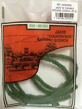 Javis Flexible Hedging JHEDGE  00 and N gauge Model Rail, Dioramas Scenics