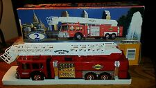 1995 Sunoco Aerial Tower Fire Truck-Collectors Edition-Second Of A Series NIB