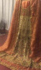 Pakistan Bridal  / Party Wear Nikhah  Stitched Salwar Kameez  Medium Chest 39/40