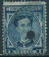 Spanien Gebohrt 1876 Edifil 180