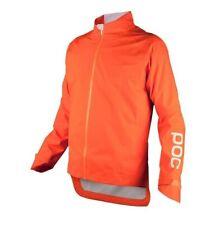 NWT POC AVIP RAIN JACKET, Zinc Orange, Large