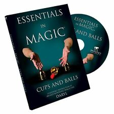 Essentials in Magic Cups and Balls - DVD