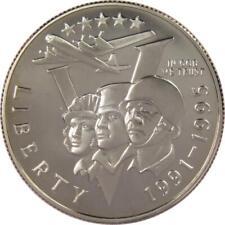 1993 P 50c World War Ii Commemorative Half Dollar Coin Choice Proof