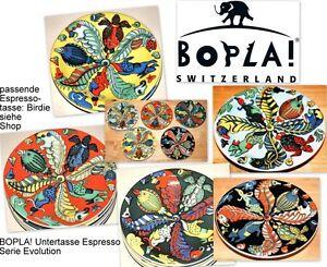 OZEAN BOPLA Porzellan Espressotassen Unterteller 13cm