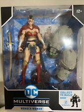 McFarlane Toys Dc Multiverse Last Knight on Earth Wonder Woman Bane Baf