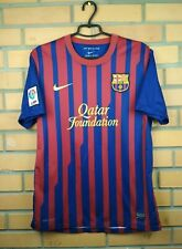 Barcelona jersey medium 2011 2012 home shirt 419877-486 soccer football Adidas