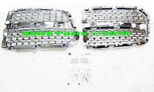 2013-2017 Dodge Ram 1500 Laramie Chrome Hex-Foil Grille Inserts MOPAR GENUINE OE