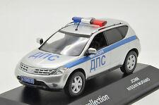 Rare !! Nissan Murano Road Police Russian Lim Custom Made J-Collection 1/43