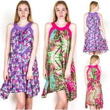Cotton Floral Sleeveless Maternity Dresses
