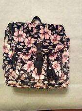 pink floral Mini backpack. (No Boundaries)