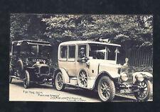REAL PHOTO NORWOOD OHIO TAXI LIMOSINE AUTOMOBILE CAR POSTCARD COPY