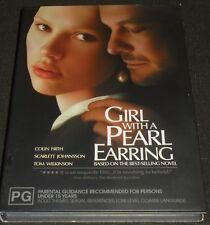 GIRL WITH A PEARL EARRING DVD REGION 4 (SCARLETT JOHANSSON, COLIN FIRTH)