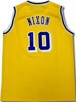 Norm Nixon Hand Signed Autographed Los Angeles Lakers Jersey Yellow COA