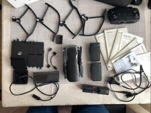 DJI CPPT0000015601 Mavic Air Fly More Combo Onyx  More Combo Quadcopter Black