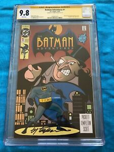 Batman Adventures #1 (1992) - DC - CGC SS 9.8 NM/MT - Signed by Ty Templeton