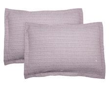 Yarn Dyed Waffle Weave Pillow Shams Cotton Soft Decor 2pcs Standard King Phf