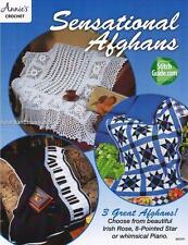 Sensational Afghans 3 Annie's Attic Crochet Afghan Pattern Instruction Leaflet