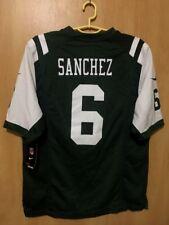 NFL NEW YORK JETS *BNWT* AMERICAN FOOTBALL SHIRT JERSEY NIKE MARK SANCHEZ #6