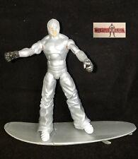 WWE Rey Mysterio Wrestling Figure Custom Elite Mattel Silver Surfer SummerSlam