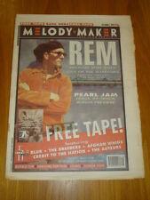 MELODY MAKER 1993 OCT 2 REM PEARL JAM BUFFALO TOM