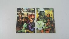 Topps MARS ATTACKS 1994 Trading Cards #82 and #89