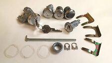 1968 Chevelle Malibu Lock Cylinder Set Ignition Door Trunk Glove Box Keys Nova