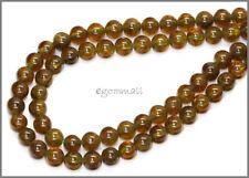 "15.8"" Green Garnet Grossular Round Beads ap. 6mm #67063"