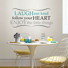 Wall Pops Wall Words Home Decor laugh out loud  Free Shipping!!
