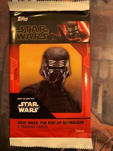Topps STAR WARS THE RISE OF SKYWALKER  Cineworld Exclusive Sealed Pack