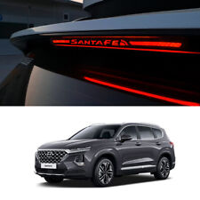 Brake Light Trim Cover Mask Black color For Hyundai santa fe Sports 2019+