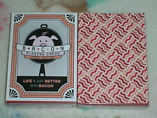 1 deck Bacon Deck Playing Cards By Vanda