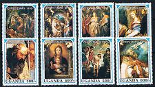 Uganda 1990 Christmas SG 881/8 MNH