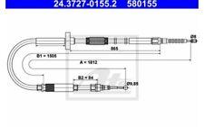 ATE Cable de accionamiento, freno estacionamiento AUDI A4 24.3727-0155.2