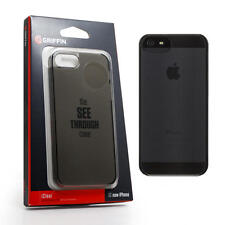 Griffin Smoke / Grey Transparent Hard Case / Back Cover for iPhone 5 / 5S / SE